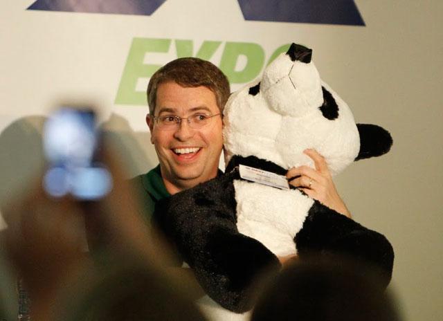 Matt Cutts Panda Toy