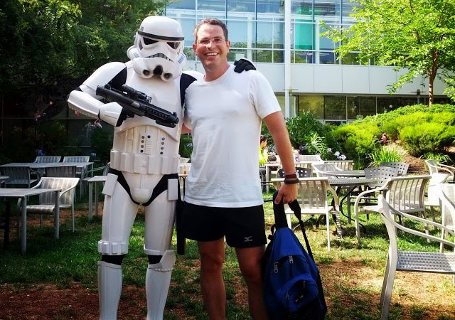 Matt Cutts Seized By A Stormtrooper