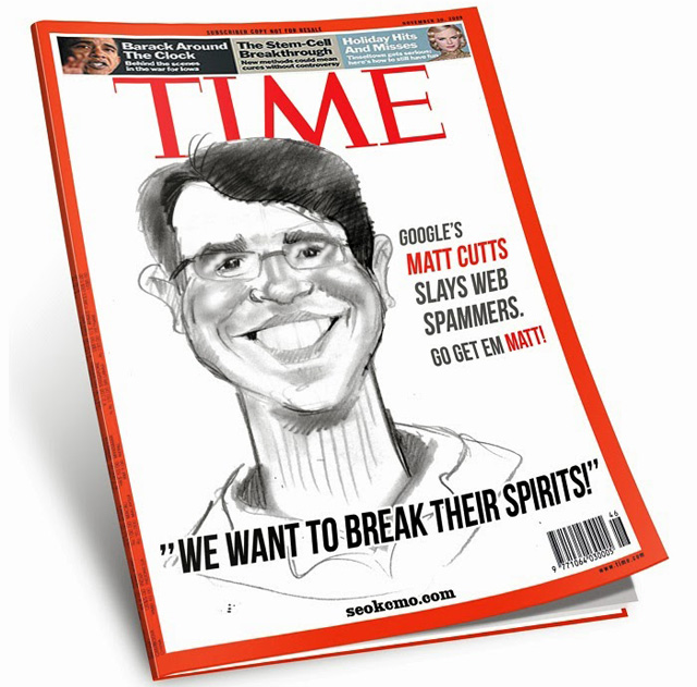 Matt Cutts TIME Magazine