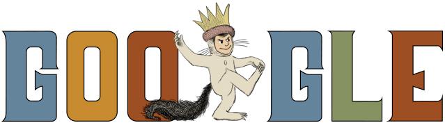 Maurice Sendak Google Static Logo
