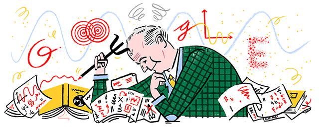 Max Born Quantum Mechanics Google Doodle