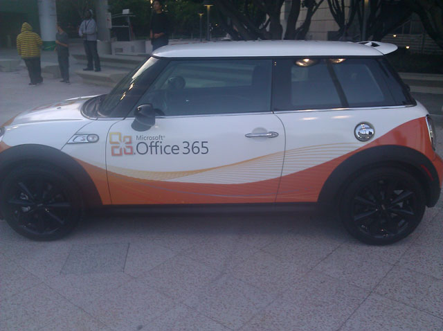 Office 365 Car