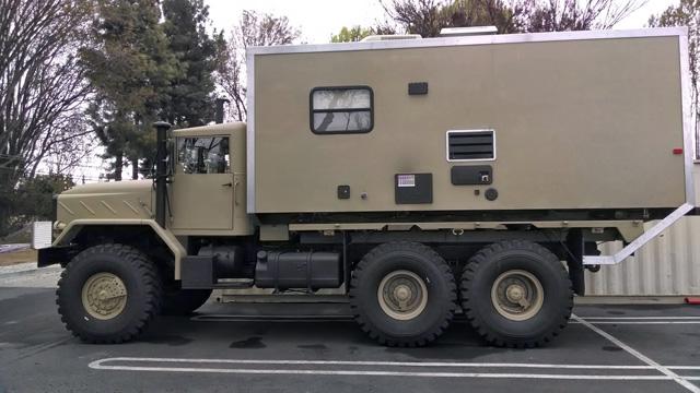 google military truck