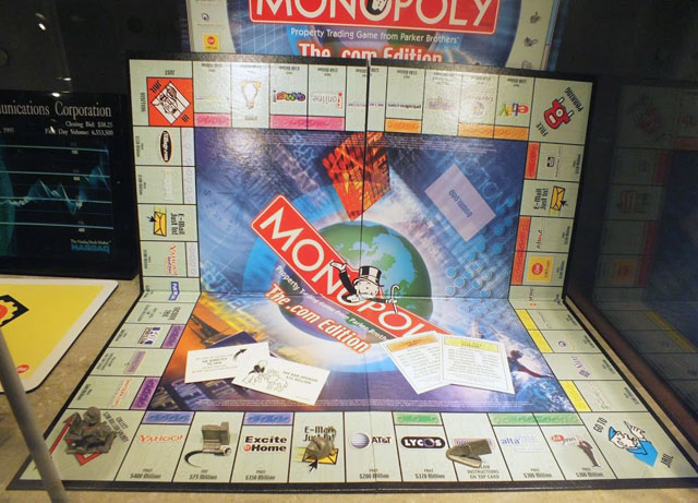 Dot Com Monopoly Board