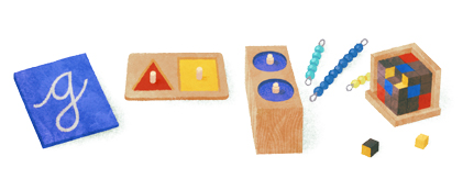 Montessori Google Logo