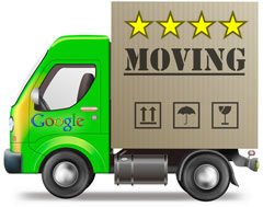 google maps reviews moving