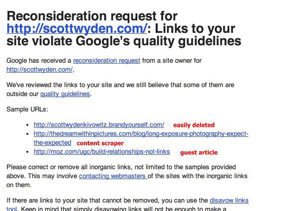 YouMoz Google Link Violation