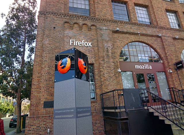Mozilla Firefox Office Through Google Glass