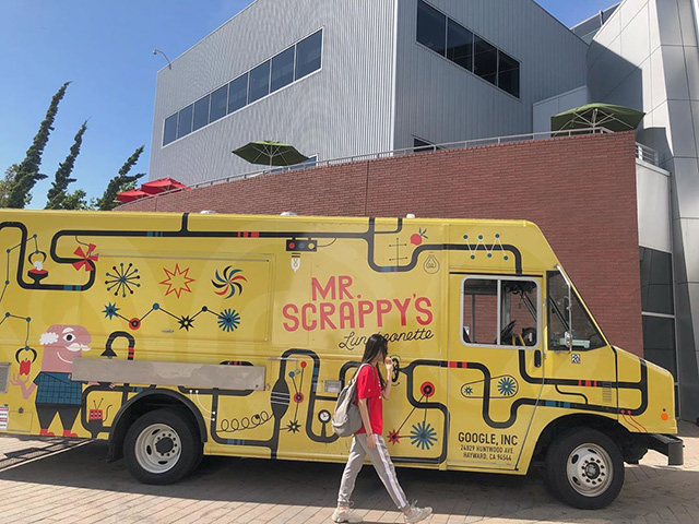 Mr. Scrappys Google Food Truck