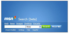 Old MSN Search Web Site : How It Really Began