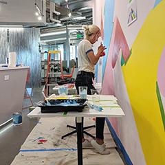 Mural Painting At GooglePlex