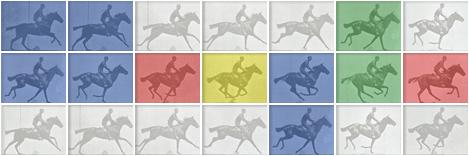 Eadweard J. Muybridge Google Logo