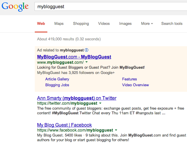 myblogguest google rankings gone