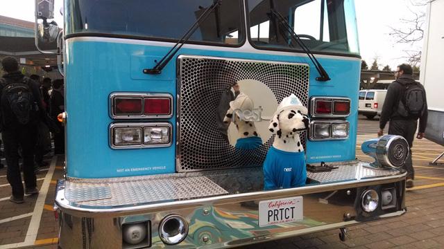 Nest Fire Truck