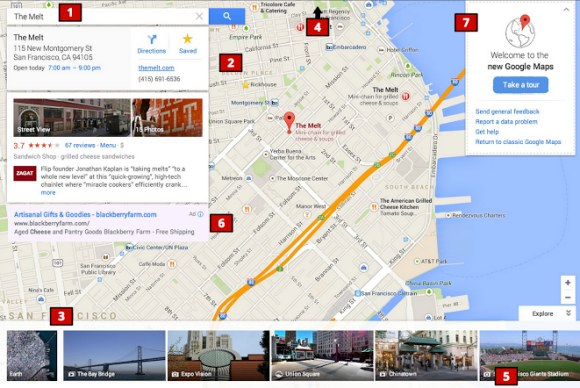 Google Maps Completely Redesigned