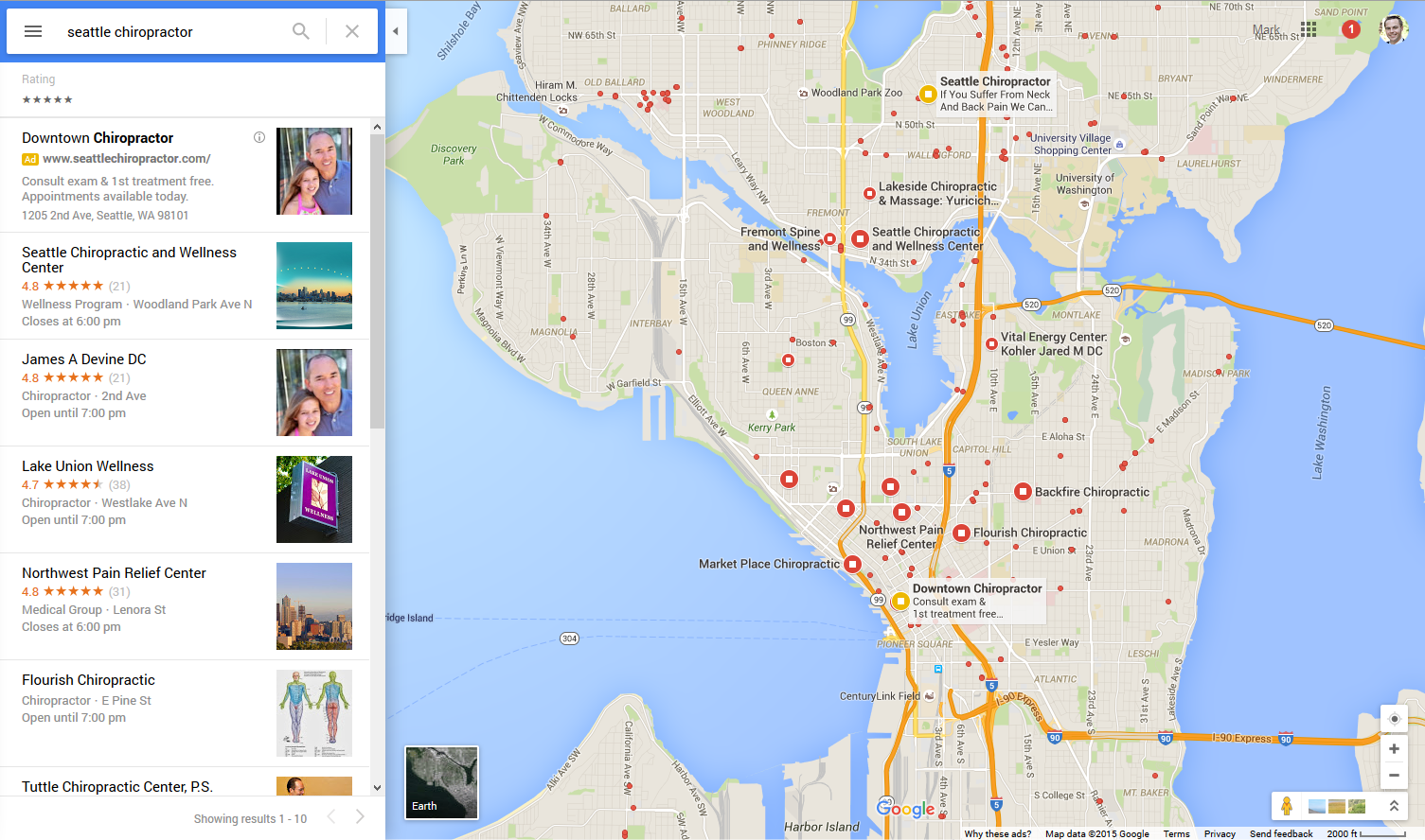 new google maps layout now live for all