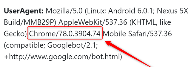 New GoogleBot Dynamic User Agent Names