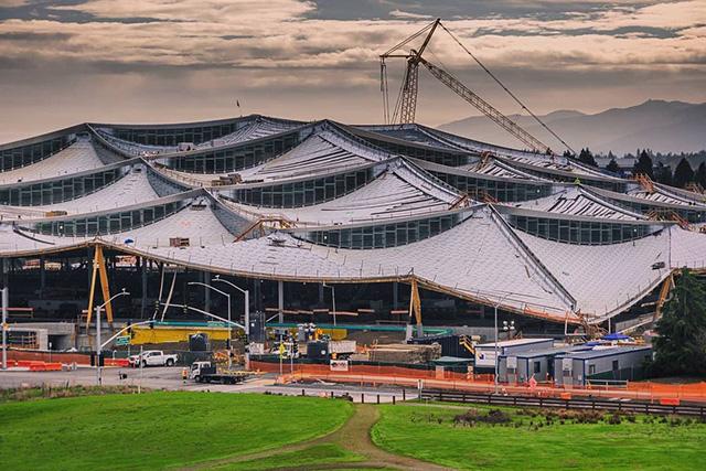 New GooglePlex - Google Dome