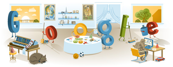 New Year's Day 2013 Google Logo
