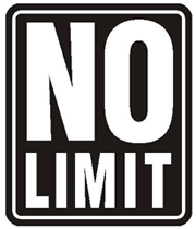 no limit sign