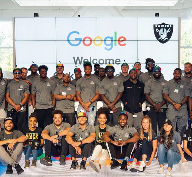 Oakland Raiders At Google