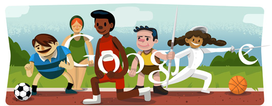Google Logo For London 2012 Olympics Open Ceremony