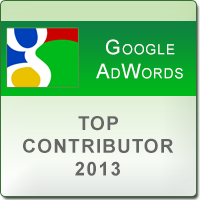 AdWords Top Contributor Badge