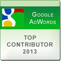 AdWords Top Contributor Badge