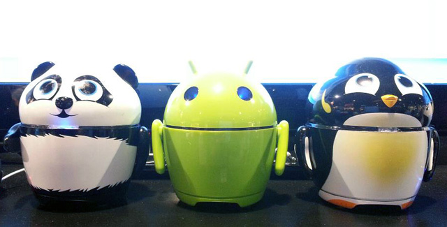 Panda, Penguin & Android Speakers