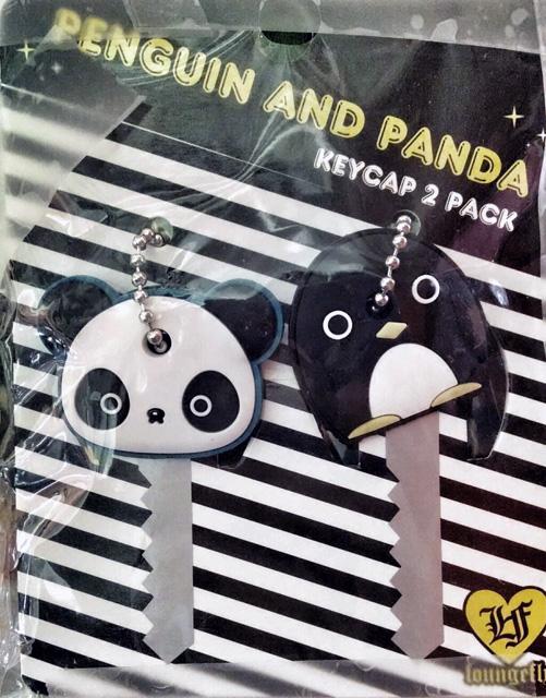 Panda & Penguin KeyCaps