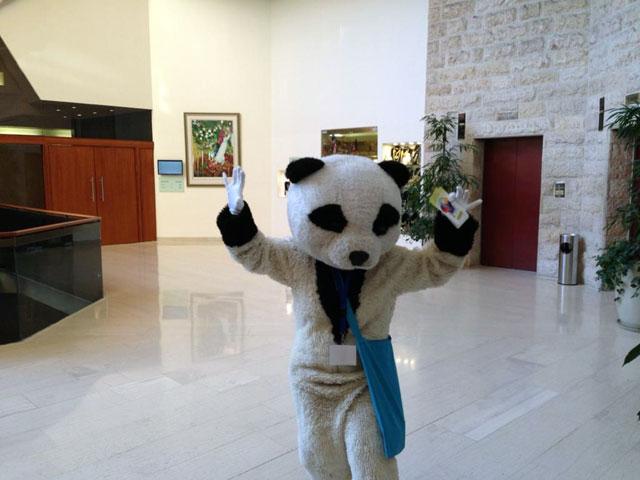 Panda At SMX Israel