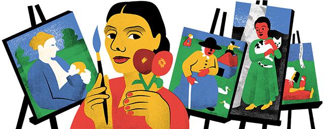 Paula Modersohn-Becker Google Logo