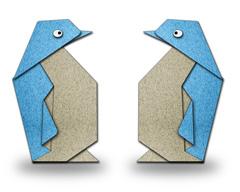penguin origami