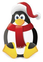 Santa Penguin