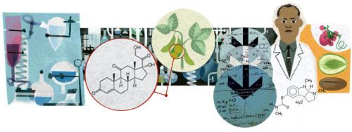 Percy Lavon Julian Google Chemistry Doodle
