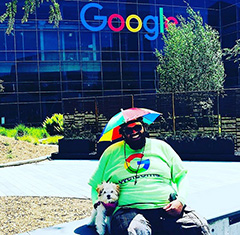 Google's Peter The Greeter Says Stay Positive