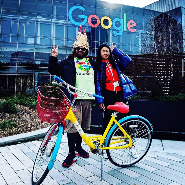 Happy Holidays From Peter The Greeter Of Google