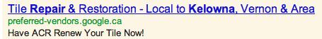 Google Preferred Vendor