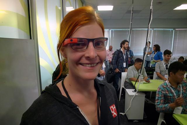 Official Google Glass Prescription Test
