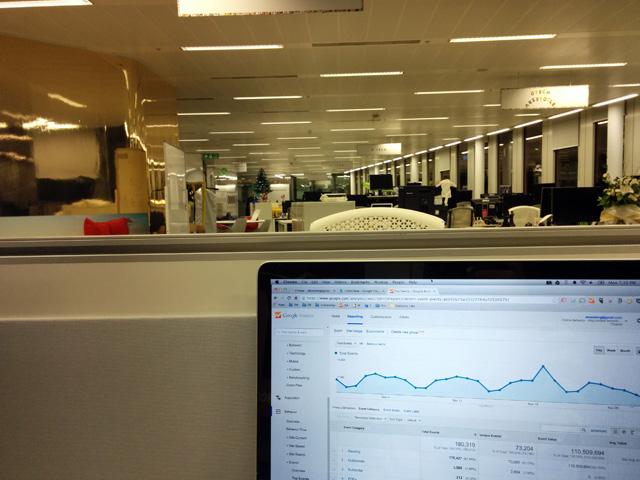 The Quiet Google London Office