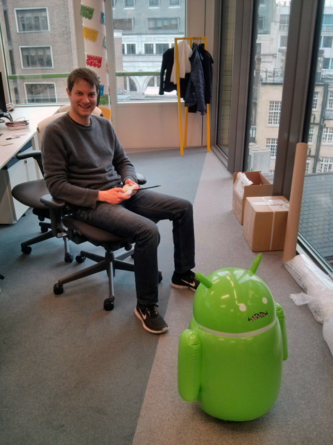 Remote Control Androids At Google Offices