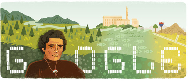 Richard Oakes American Indians Activist Google Doodle