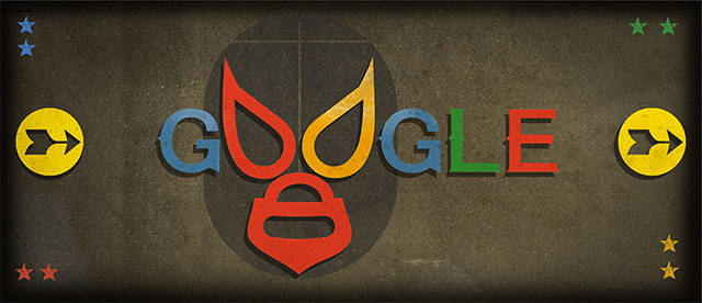 Google El Santo Mask Logo