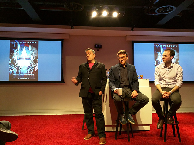 Russo Brothers Visit Google London