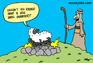 sacrificial SEO lamb