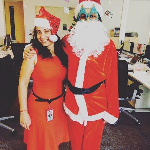 Santa At Google