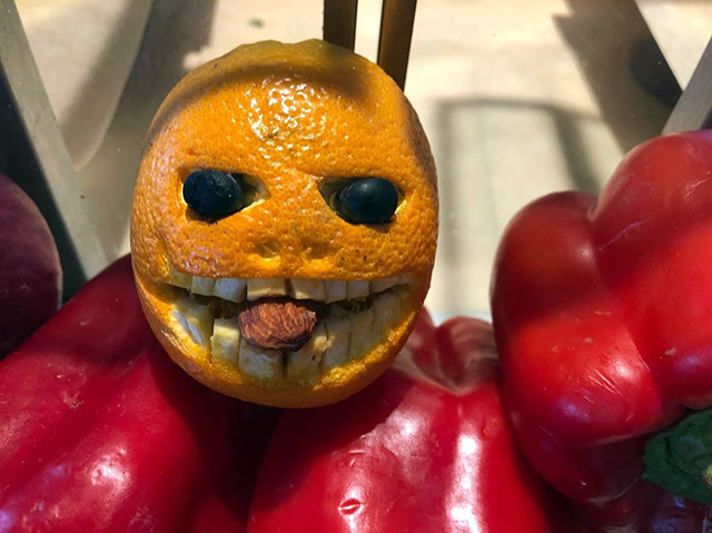 Scary Looking Google Fruit