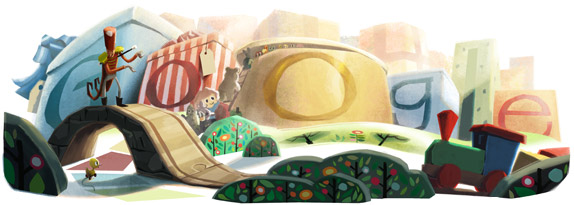 Christmas Day Google Doodle