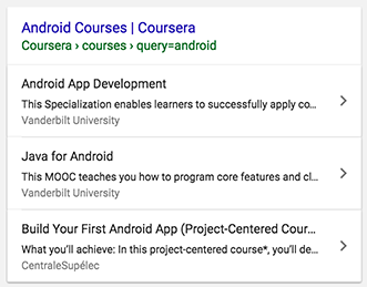 Google Schema For Courses