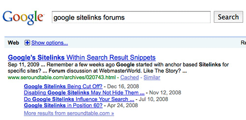Google See More Results From Old